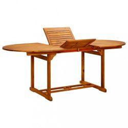 tömör akácfa kerti asztal 200 x 100 x 74 cm
