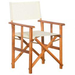 tömör akácfa rendezői szék