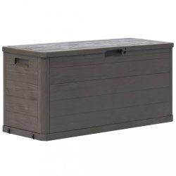 barna kerti tárolóláda 280 L