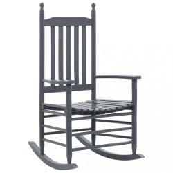 szürke nyárfa hintaszék ívelt ülőfelülettel