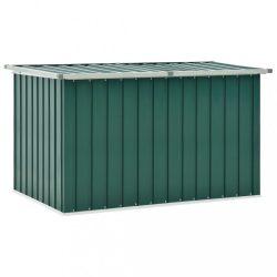 zöld kerti tárolóláda 149 x 99 x 93 cm