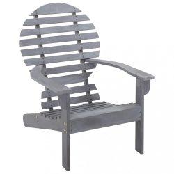 szürke tömör akácfa Adirondack szék