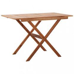 tömör akácfa kerti asztal 110 x 67 x 74 cm