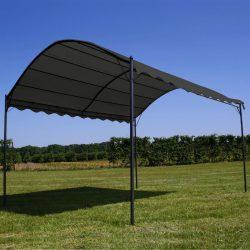 antracitszürke napellenző 3 x 4 m