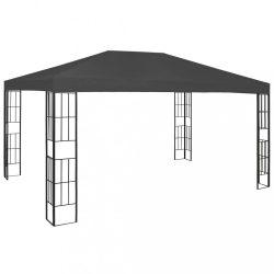 antracitszürke pavilon 3 x 4 m