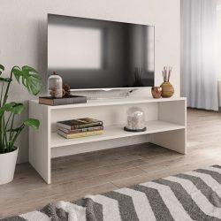 fehér forgácslap TV-szekrény 100 x 40 x 40 cm