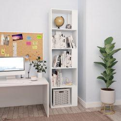 fehér könyvszekrény/térelválasztó 45 x 24 x 159 cm