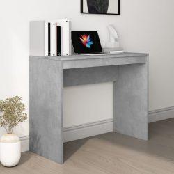 betonszürke forgácslap íróasztal 90 x 40 x 72 cm