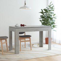 betonszürke forgácslap étkezőasztal 120 x 60 x 76 cm