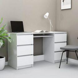 fehér forgácslap íróasztal 140 x 50 x 77 cm