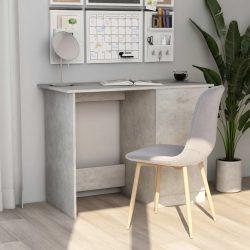 betonszürke forgácslap íróasztal 100 x 50 x 76 cm