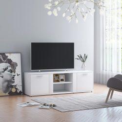 fehér forgácslap TV-szekrény 120 x 34 x 37 cm