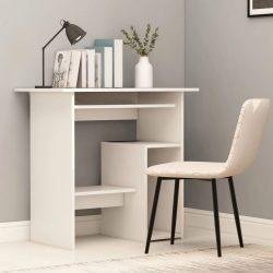 fehér forgácslap íróasztal 80 x 45 x 74 cm