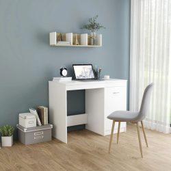 fehér forgácslap íróasztal 100 x 50 x 76 cm