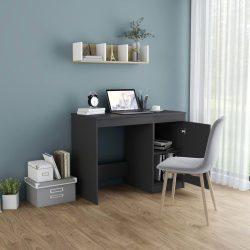 szürke forgácslap íróasztal 100 x 50 x 76 cm