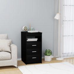 fehér forgácslap fiókos szekrény 40 x 50 x 76 cm