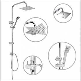Zuhanyrózsák - Zuhanyfejek